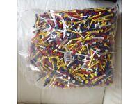 Wood golf tees , bag 2000 , 2 1/8 mixed