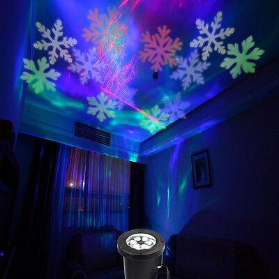 IP68 LED Outdoor Light Snowflake Laser Projector Spotlight Garden Christmas Lamp - Snowflake Light