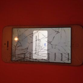 iPhone 5 - for parts not working