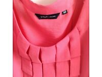 Pink blouse by ya ya size 16