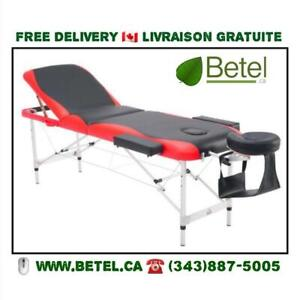 FREE DELIVERY | Ultra Portable Mobile Massage Tattoo Reiki Table with Accessories