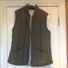 A mans gilet [ bodywarmer ] by Matlock and Brown , size large