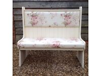 Hand Painted Bench/Settle