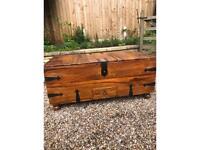 Sheesham solid wood chest /coffee table /storage