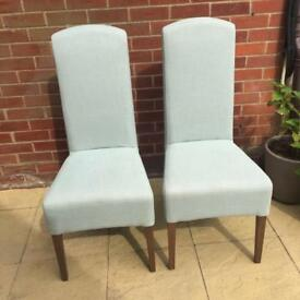 Pair of Next Sienna Dining Chairs
