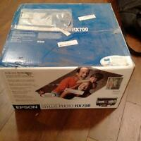 New, never used Epson Stylus Photo RX700 Photo Printer