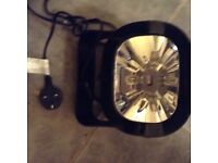Flashing white strobe light with plug