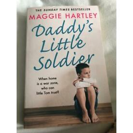 Daddy's little soldier by Maggie Hartley.