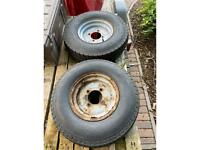 Trailer wheels 115mm PDC