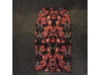 Prettylittlething midi skirt