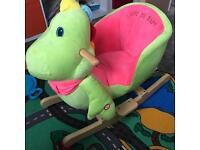 Rocking dinosaur
