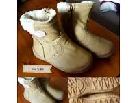 winter shoes for girl size 5
