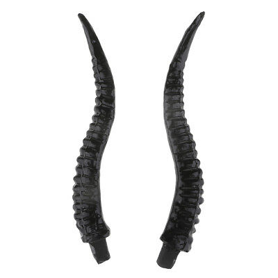 Artificial Antelope Horns Costume Gothic Hair Headband Hoop DIY Accessory