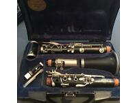 Buffet B12 Clarinet with stand, books CDs and replacement parts