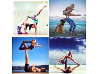 Acroyoga playing partner!