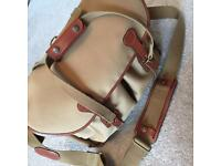BILLINGHAM 445 KHAKI TAN CANVAS CAMERA BAG