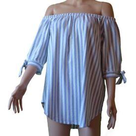 Women's Off Shoulder Long Blouse