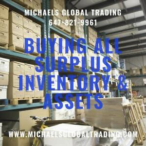 We Pay Cash For Inventory and Assets - Michaels Global Trading