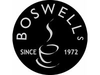 Cafe Team Members & Baristas at Boswells Cafe, Havant - Full & Part time (Incl Weekdays & Weekends)