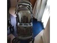Graco buggy and Chicco stroller
