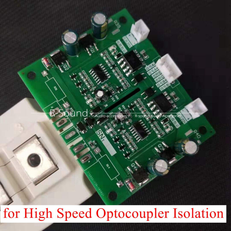 IGBT Module Driver Board Over Current Protection for Optocoupler Isolation