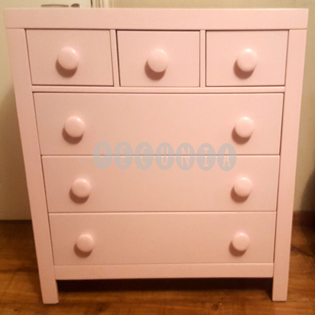 jute white rug pink chest blush baby pin girl reveal room of pastel mint light dresser drawers gold bright and lamp nursery