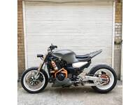 Custom streched Kawasaki zx12r a1 unrestricted . street fighter .one of a kind