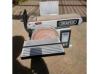 Draper 350w Belt and Disc Sander
