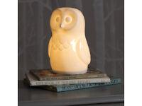 Gorgeous BNIB ceramic owl night light