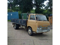 eft hand drive Nissan Caball (Early Cabstar) SD22 6 tyres 3.5 Ton truck. Low miles.