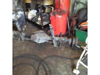 Ford transit double wheel back axel for sale