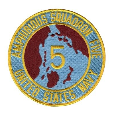 United States Navy Amphibious Squadron 5 military PATCH