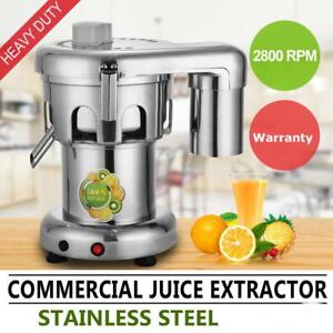 Commercial Juice Extractor Stainless Steel Juicer - Heavy Duty - FREE SHIPPING
