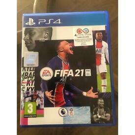 FIFA 21. PS4