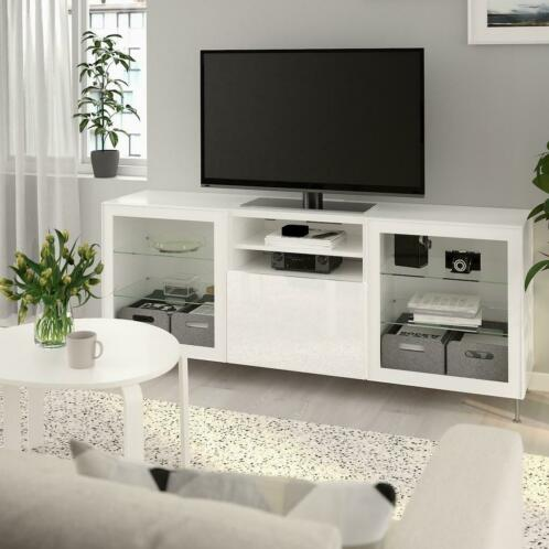 Besta Tv Meubel Combinatie.Tv Meubel Wit Ikea Besta لم يسبق له مثيل الصور Tier3 Xyz