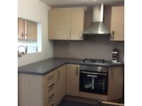 EX DISPLAY SAND OAK KITCHEN UITS