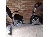 Roger Black Recumbent Bike Exercise Machine