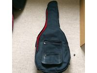 Padded soft case. Acoustic guitar case.
