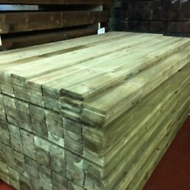 Fence boards treated 6ft x 150mm x 18mm