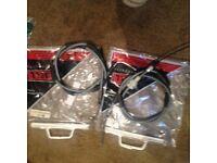 Ford escort mk3 hand brake cables(Ns/os)