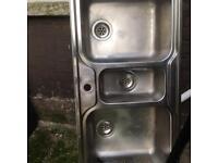Kitchen sink - stainless steel