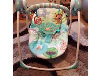 Baby swing - bouncer
