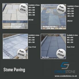 Natural Stone Paving, Paving slabs, cobbles, granite kerbs, kerbs, wall copings, pier caps, hearths