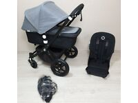BUGABOO Cameleon 3 grey and black