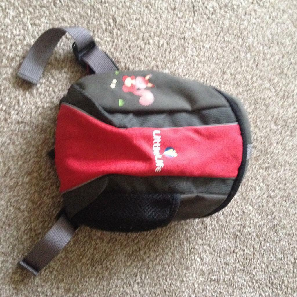 Littlelife backpack and harness