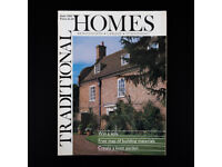 Traditional Homes/Period Living/Period House - 100 magazines 1988 -1996