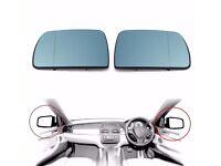 VW CADDY DOOR MIRROR GLASS NEW