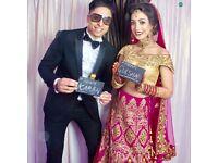 **PHOTO BOOTH - Wedding / Prom / Birthday / Mehndi / Engagement Party PhotoBooth Magic Mirror DJ Bar