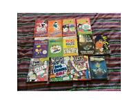 14 Assorted Kids books. Approx age 7-11. World of Norm, Tom Gates, Big Nate