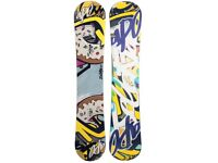 New Mens Snowboard For Sale. Factory Sealed. Reduced.